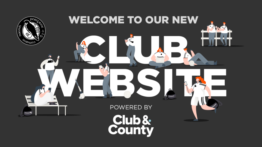 Welcome to our new Club Website