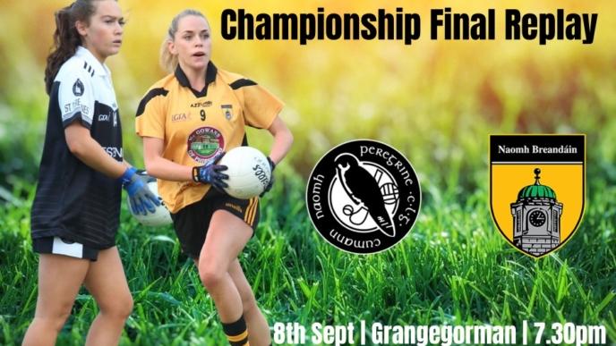 Ladies Junior B Championship Final Replay